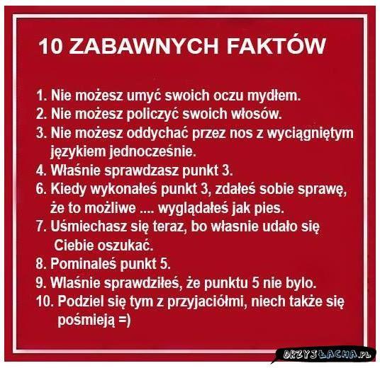 10 faktow