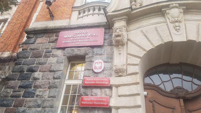 Urząd Marszałkowski w Olsztynie.