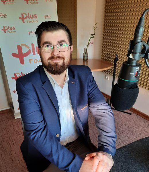 """Marcin Maślanka, prezes Stowarzyszenia Rekonstrukcji Historycznej """"Gryf"""" w Koszalinie"""