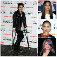 Jennifer Lopez, Kelly Osbourne, Chris Brown, Paris Hilton, Nicole Scherzinger, Demi Lovato